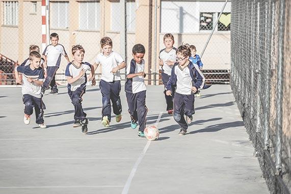 Fútbol, extraescolares Santa Cruz