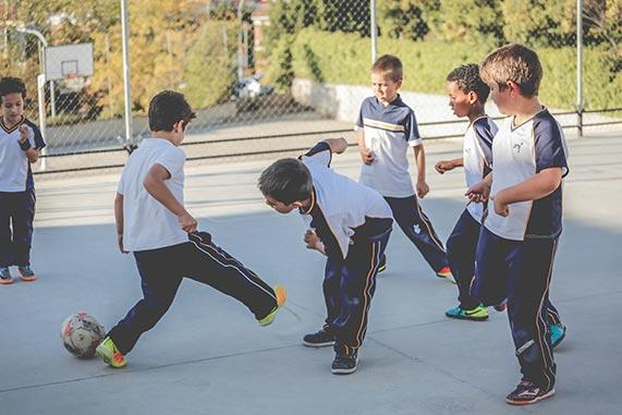 Fútbol, trabajo en equipo