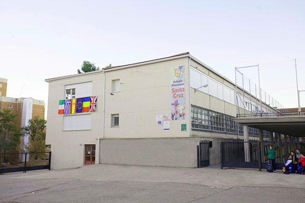 colegio Santacruz instalaciones