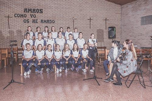 coro colegio santa cruz